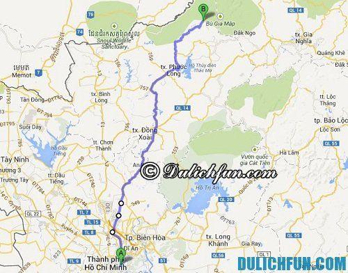 Du lịch Đắk Nông bằng xe máy