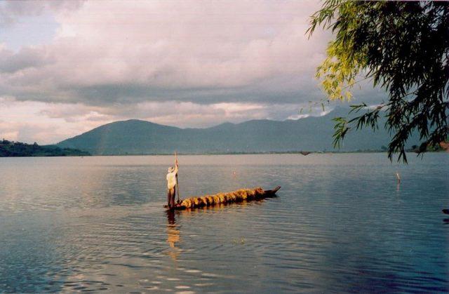 Hồ Lăk là hồ nước ngọt tự nhiên lớn nhất tỉnh Đăk Lăk, lớn thứ hai Việt Nam (sau Hồ Ba Bể) (ẢNH ST)