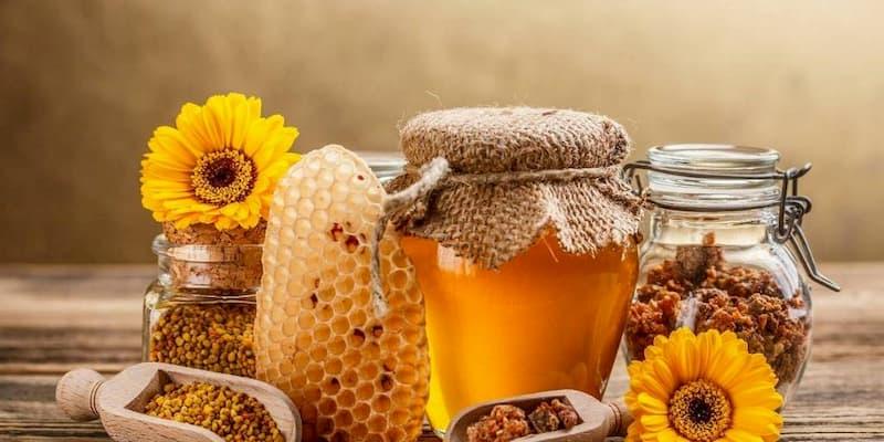 Chú ý sử dụng mật ong